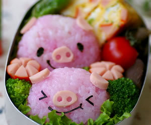 pig, food, and cute image