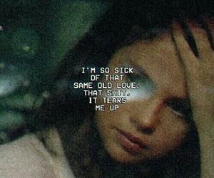 selena gomez, same old love, and Lyrics image