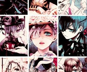 anime, manga, and black butler image