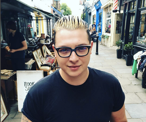 glasses and john newman image