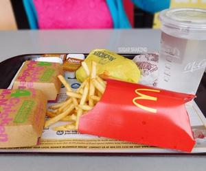 food, fries, and McDonald's image
