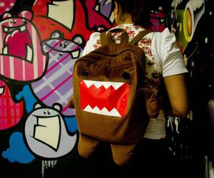 backpack, bag, and domo image