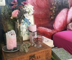 altar, boho, and books image