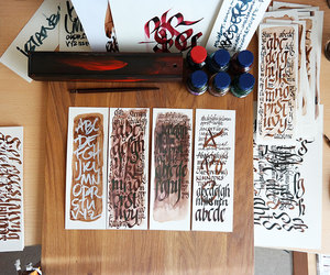 calligraphy, musato, and tolga erbay image