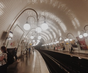 paris, station, and sub image
