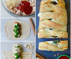 basil, Chicken, and recipe image