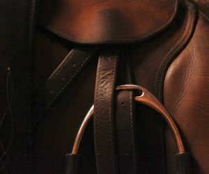 leather, english saddle, and fine crafted image