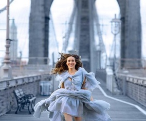 sarah jessica parker, dress, and sex and the city image