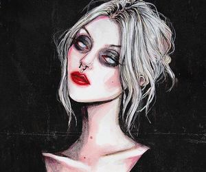 Taylor Momsen, dark, and black image