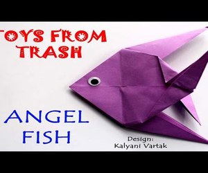 origami, video, and tutorial image