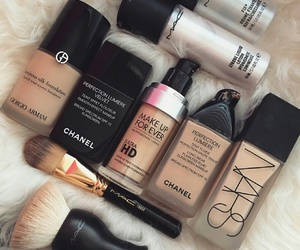 makeup, cosmetics, and Foundation image