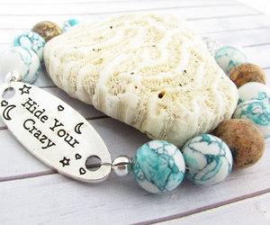 bracelet, etsy, and beaded bracelet image