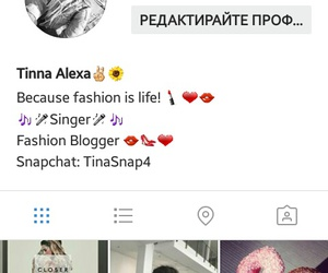i will follow you back, my instagram is, and tinna_love_life image