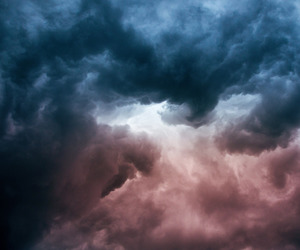 clouds, landscape, and nature image