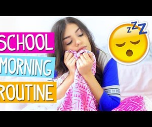 morning routine, vania fernandes, and youtuber image