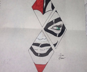 draw and harley quinn image