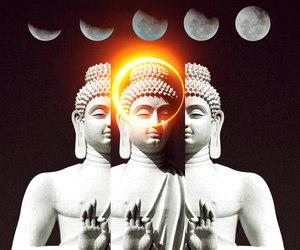 Buddha and Collage image