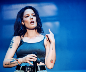 halsey and grunge image