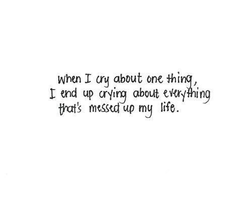 tumblr quotes sad shared by Maja on We Heart It