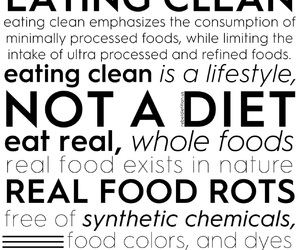 nutrition and eating clean image