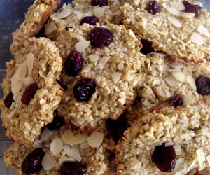 almond, Cookies, and cranberry image