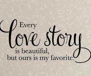 love, love story, and quotes image