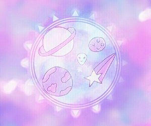 background, galaxia, and pink image