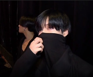 dark, Taemin, and black image