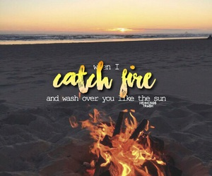 Lyrics, catch fire, and 5 seconds of summer image