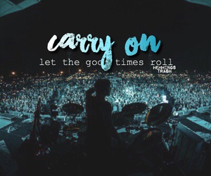 carry on, Lyrics, and 5 seconds of summer image
