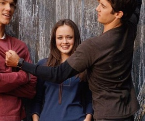 gilmore girls, alexis bledel, and jared padalecki image