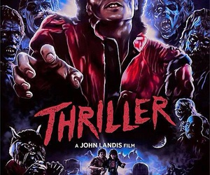 moonwalker, thriller, and michael+jackson image