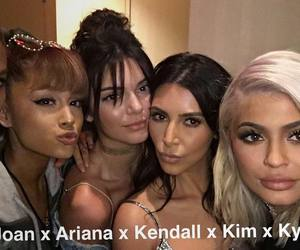 kendall jenner, ariana grande, and kylie jenner image