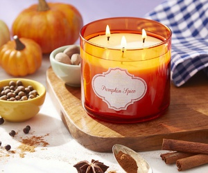 fall, pumpkins, and bathandbodyworks image