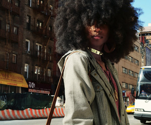 big hair, fashion, and fro image
