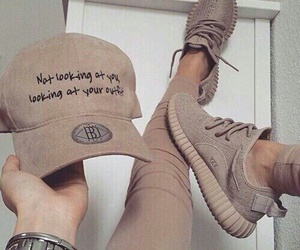 adidas, cap, and Nude image