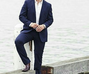suit, home and away, and stephen peacocke image