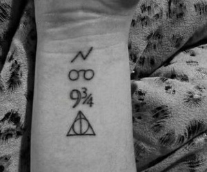 harry, tattoo, and potter image