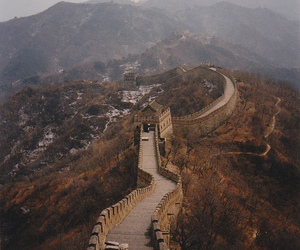 mountains, china, and photography image