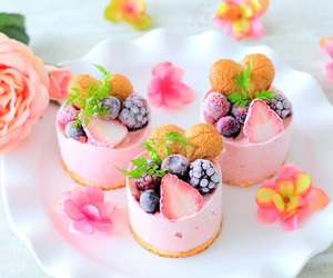 berries, candy, and dessert image
