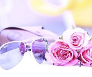 accessories, flowers, and pastel colors image
