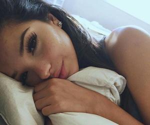 girl, beauty, and eyelashes image
