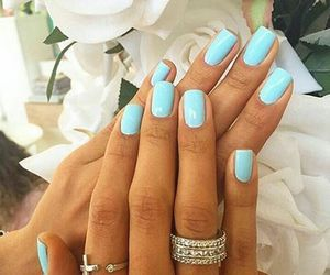 manicure, nails, and rings image