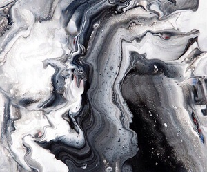 galaxy, marble, and silver image
