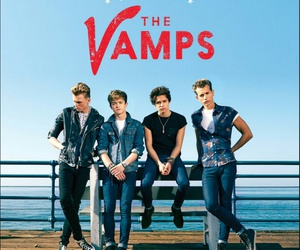 the vamps, music, and band image