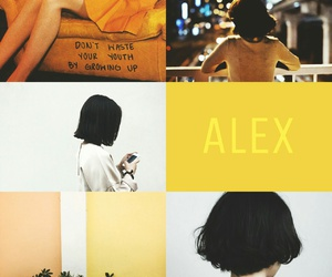 aesthetic, alex, and pastel image