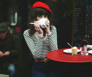 red, style, and paris image