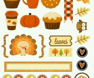 fall planner stickers image