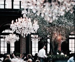 restaurant, interior, and luxury image