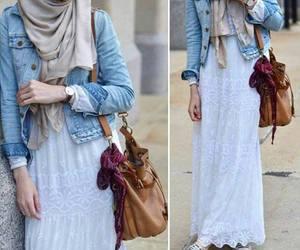 maxi skirts hijab outfits image